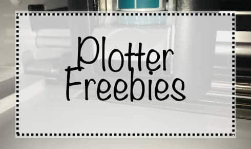 Plotter Freebies