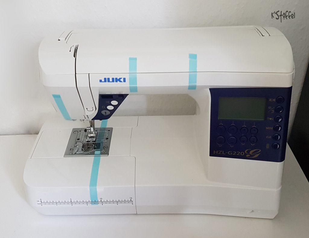 Juki HZL-G220 Testbericht nähPark Anja Kühne