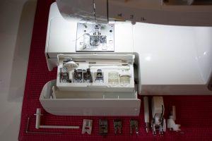 Juki HZL-DX7 Test Sandra Geißler