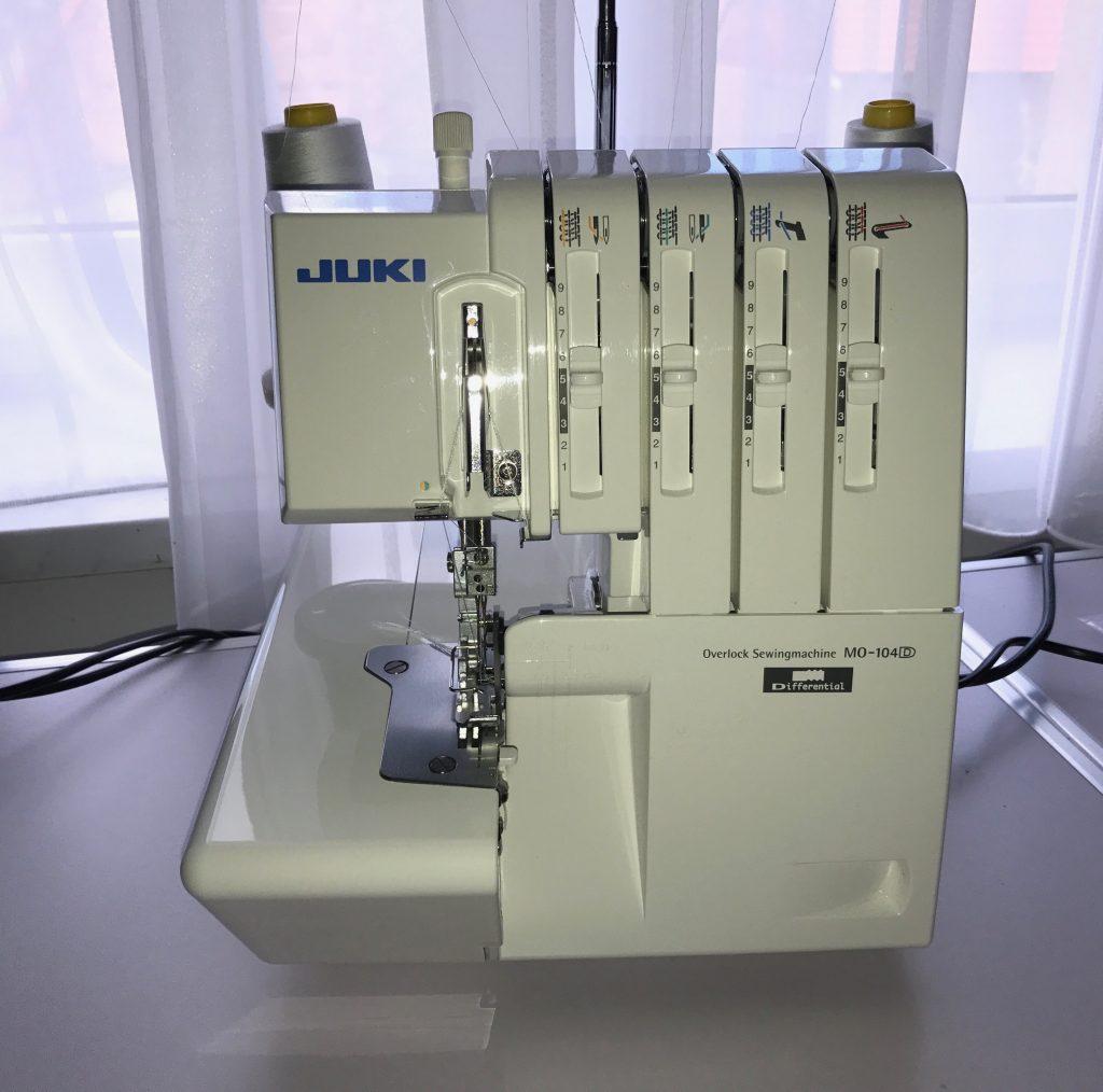 Juki MO-104D Susanne Schmidt