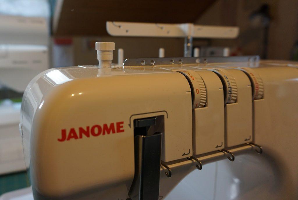 Janome Cover kein Fussdruck