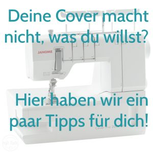 Janome Cover, Covertipps