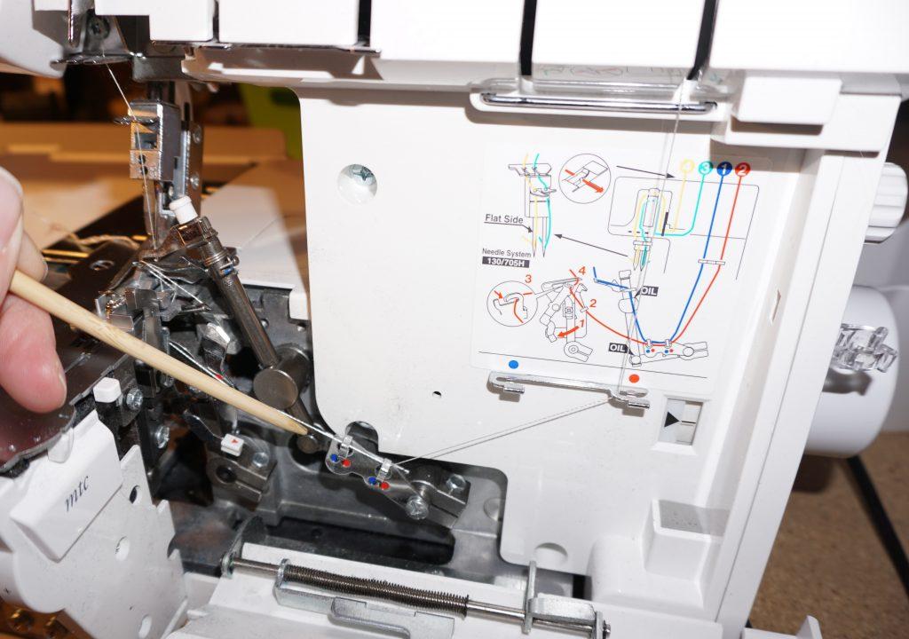 reinigen und len einer overlockmaschine am beispiel bernina l460 ratgeber. Black Bedroom Furniture Sets. Home Design Ideas
