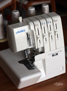 Juki MO-114D nähpark