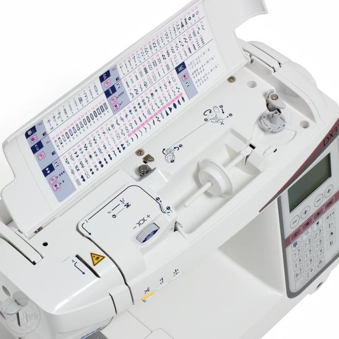 Juki-naehmaschinen-test-DX3-stichuebersicht