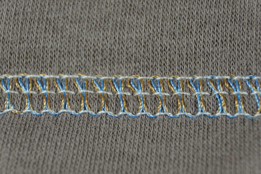Brildor Stickgarn Deckstich breit