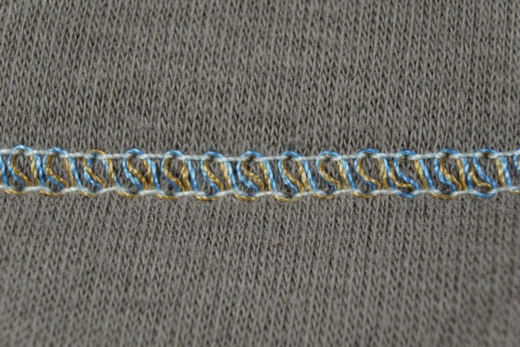 Brildor Stickgarn zweifarbig Deckstich
