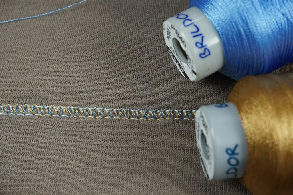 Brildor Stickgarn zwei farben covern
