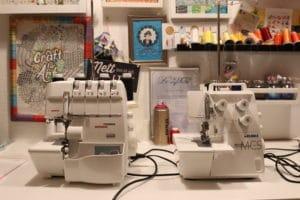 Voigt Juki MCS–1500 naehparkt test