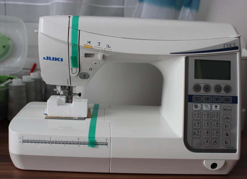Juki-HZLDX5-ausgepackt
