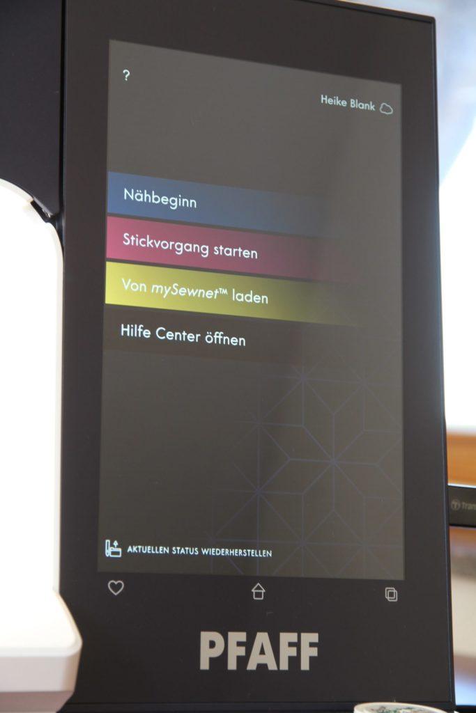 Startbildschirm Pfaff Creative Icon