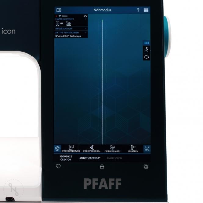 Pfaff Performance Icon Display