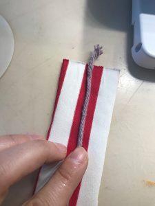 Paspelband Herstellen Bernina Paspelfuß (3)