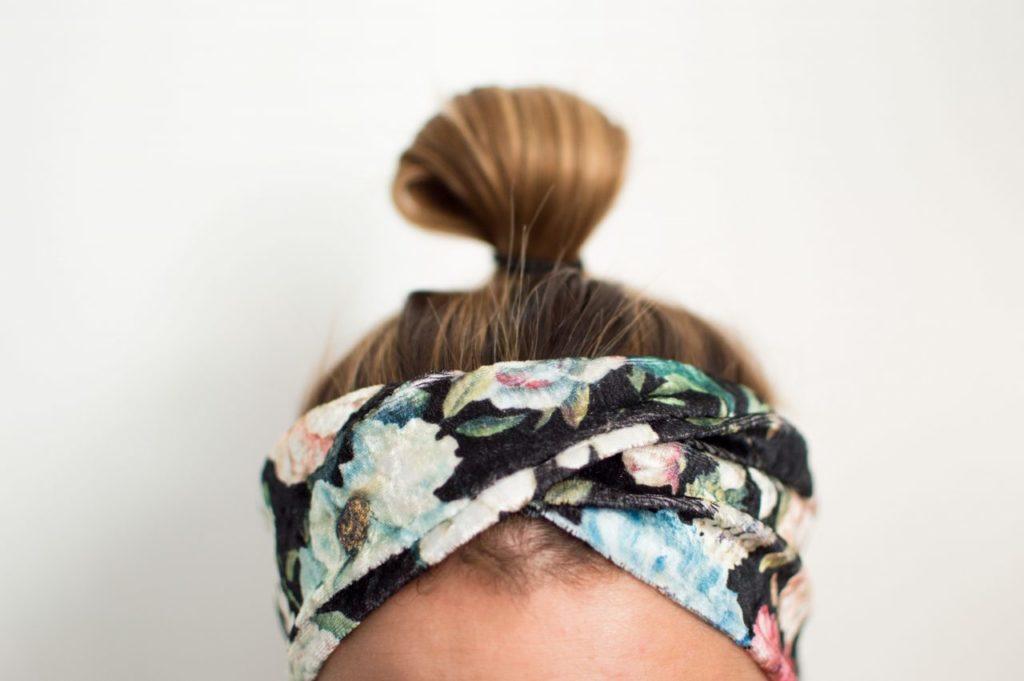 Haarband Jojolino mit Zopf