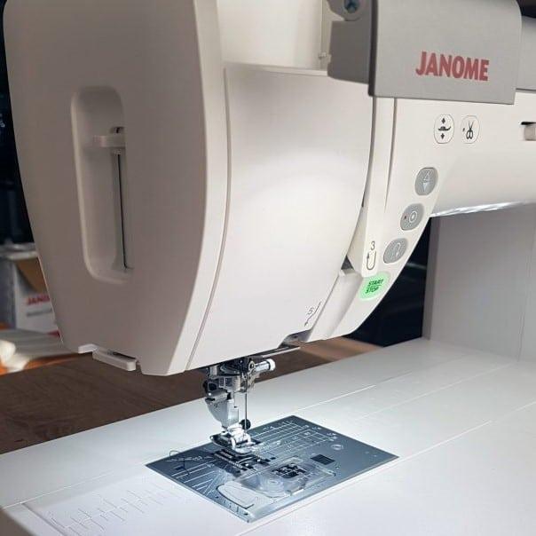 Anja Kühne Testbericht Janome 9400