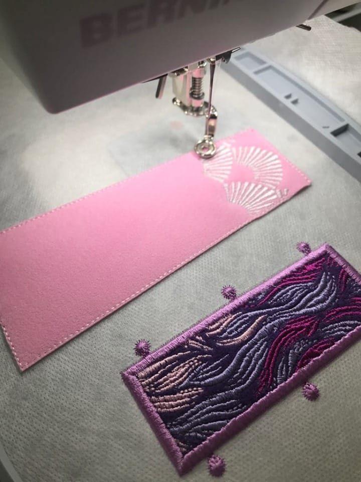 Einhorn Tula Pink Sticken