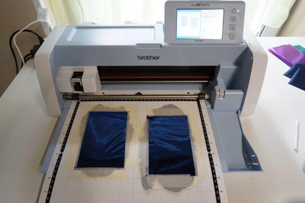 Tutorial Umschlagtasche Fimo Leather Effect Foil Quill Hohlsaumvorrichtung (3)