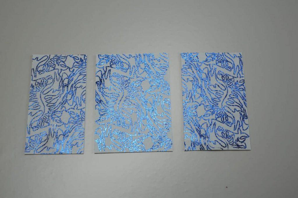 Tutorial Umschlagtasche Fimo Leather Effect Foil Quill Hohlsaumvorrichtung (6)