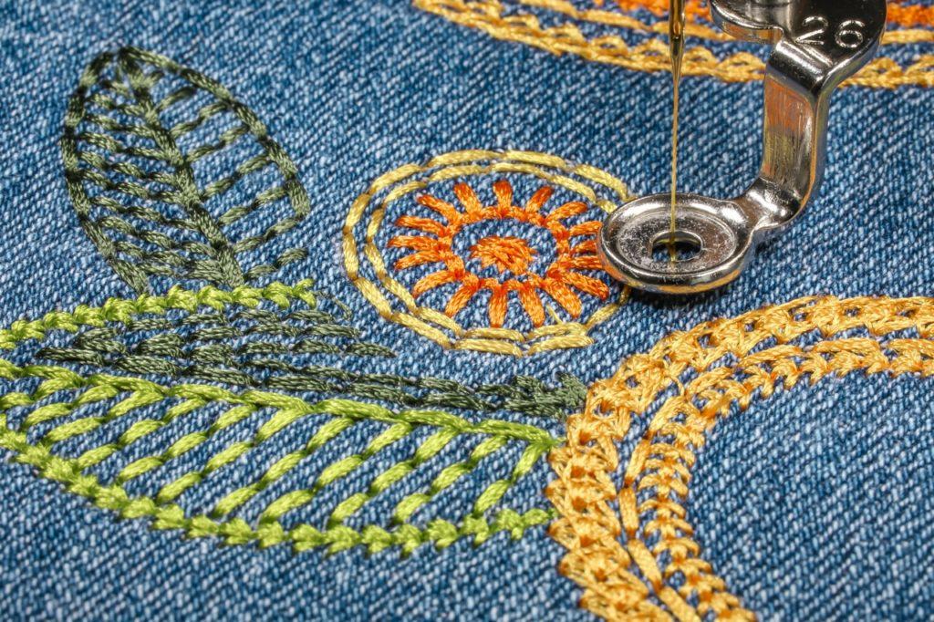 Jeans Sun Blooms
