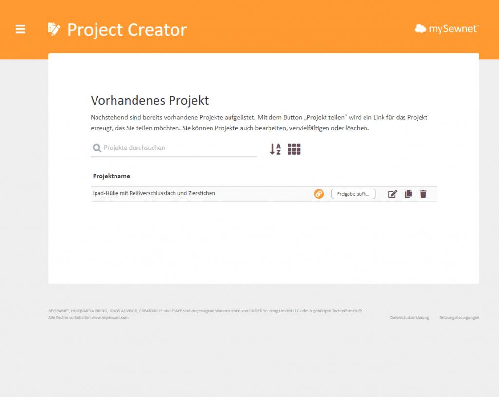Project Creator (3)