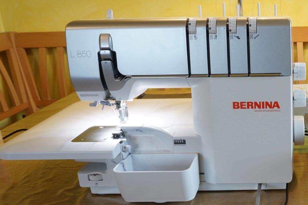 Bernina L850 Frontansicht