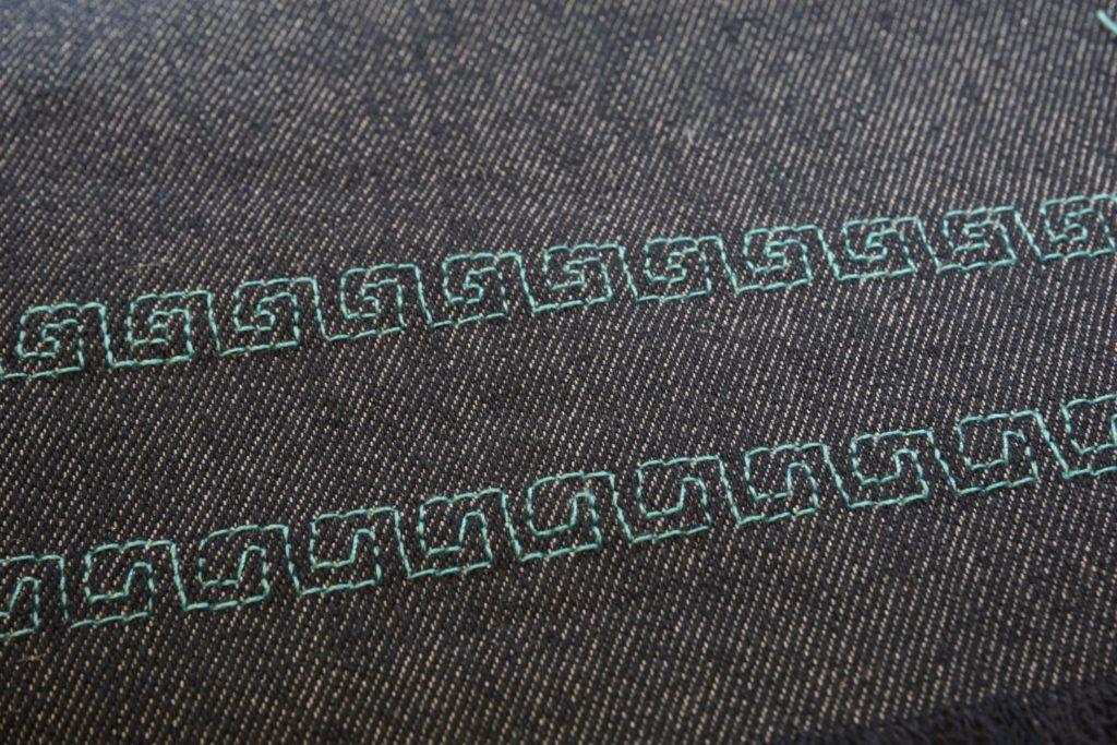 Zierstich mit My Custom Stitch verändert