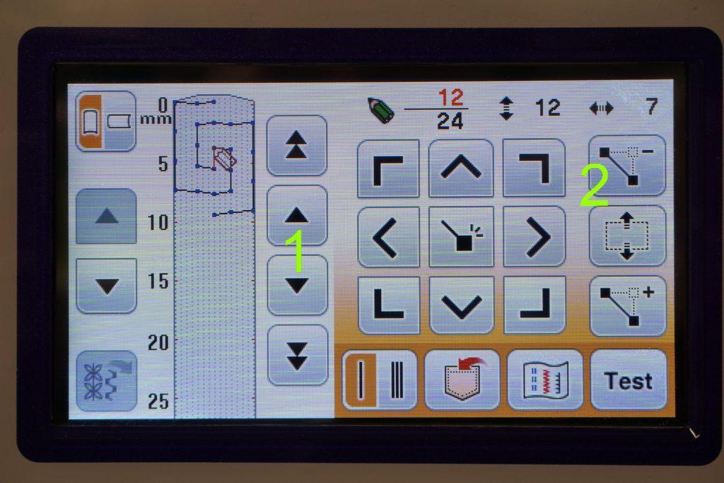My Custom Stitch Display Übersicht