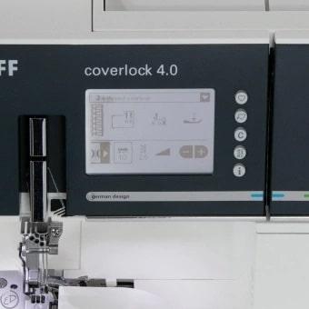 Pfaff Coverlock Display