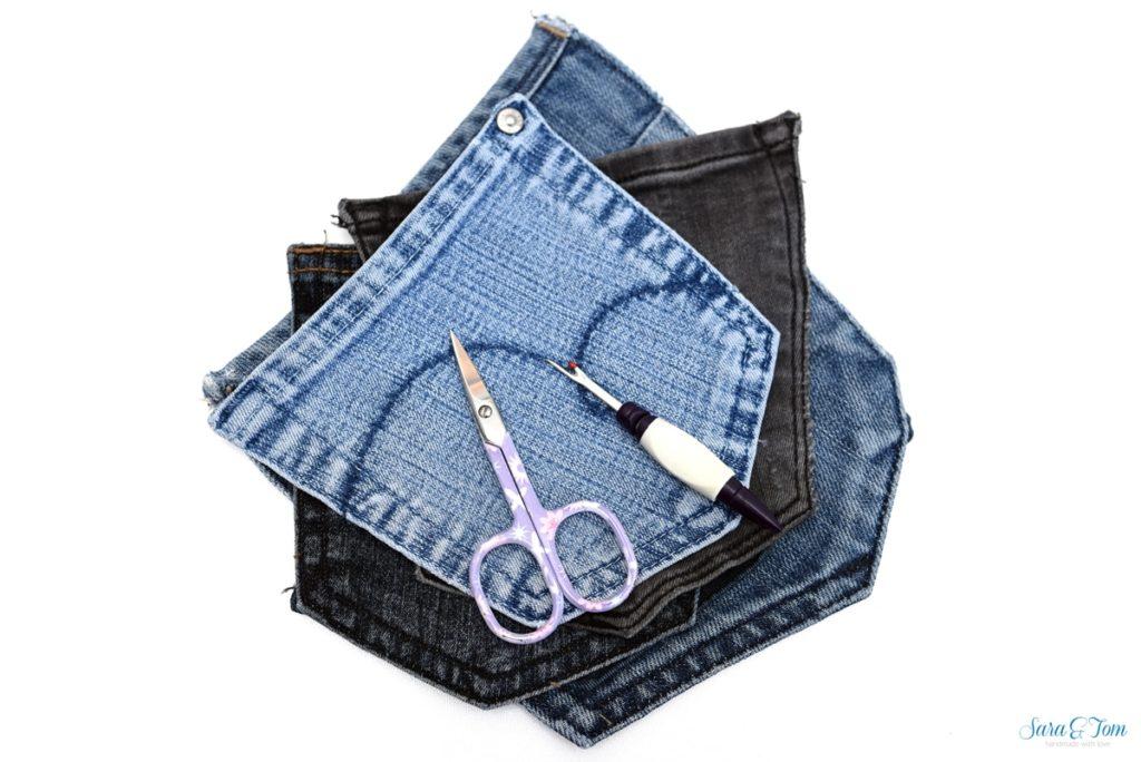 Jeanshosentaschen