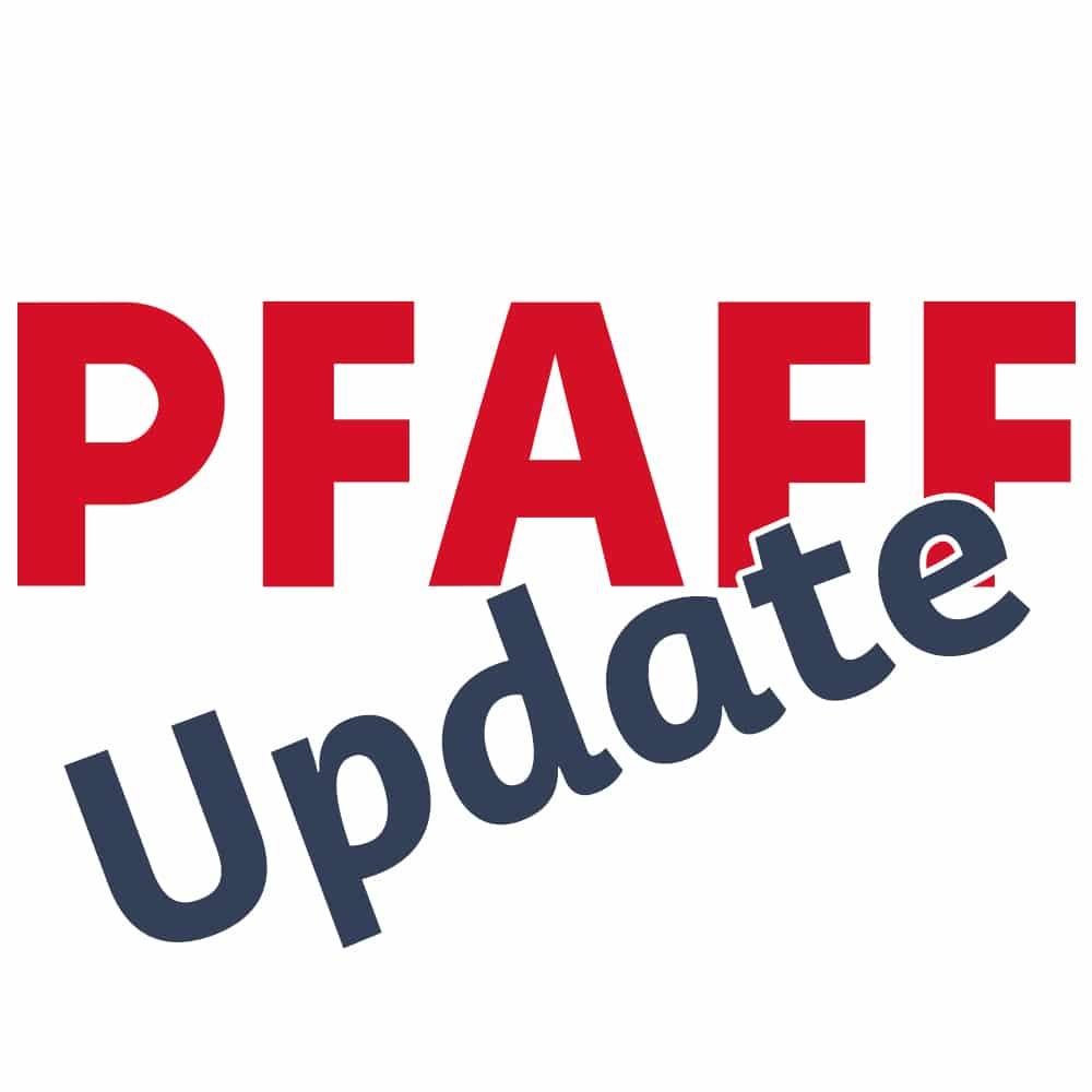 Pfaff Update