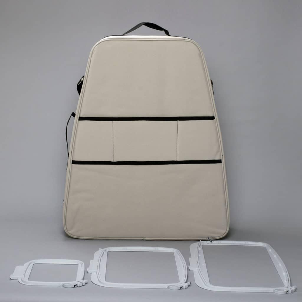 Sapphire Tasche und Rahmen