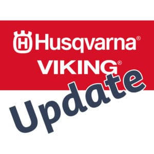 Husqvarna Viking Update