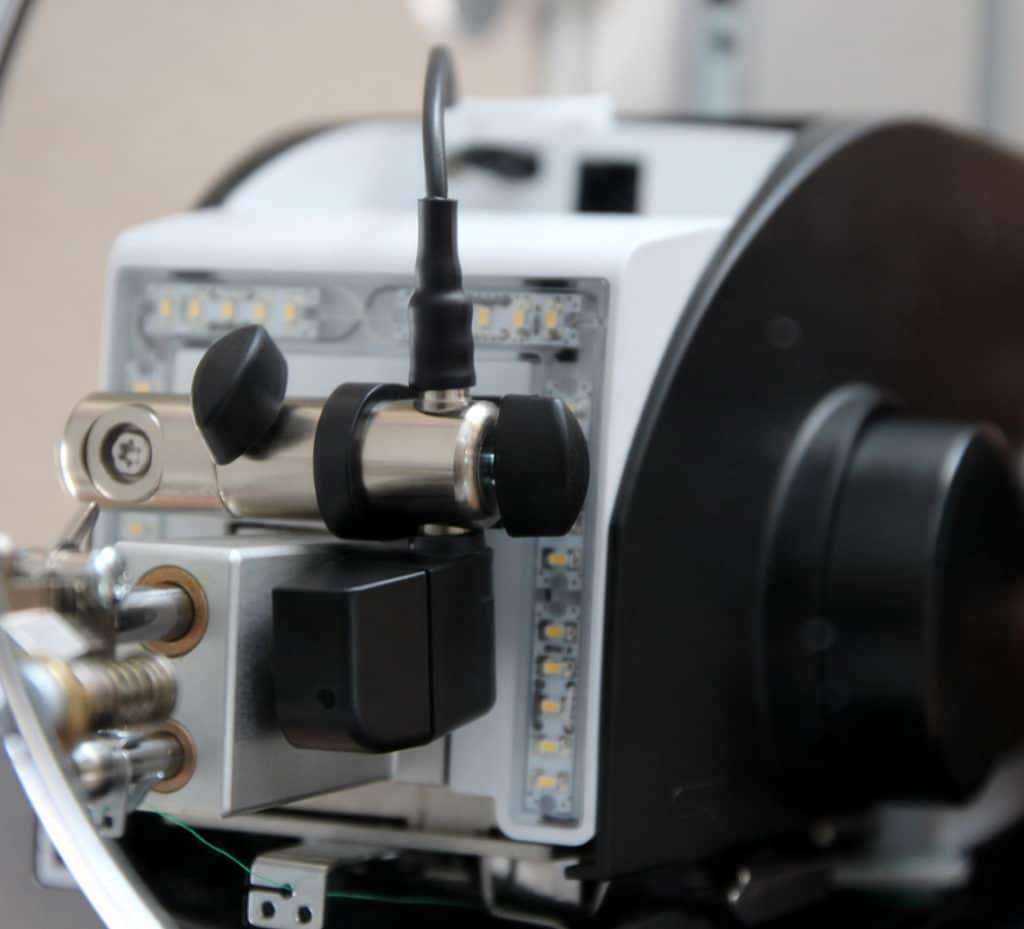Laserpointer Montage