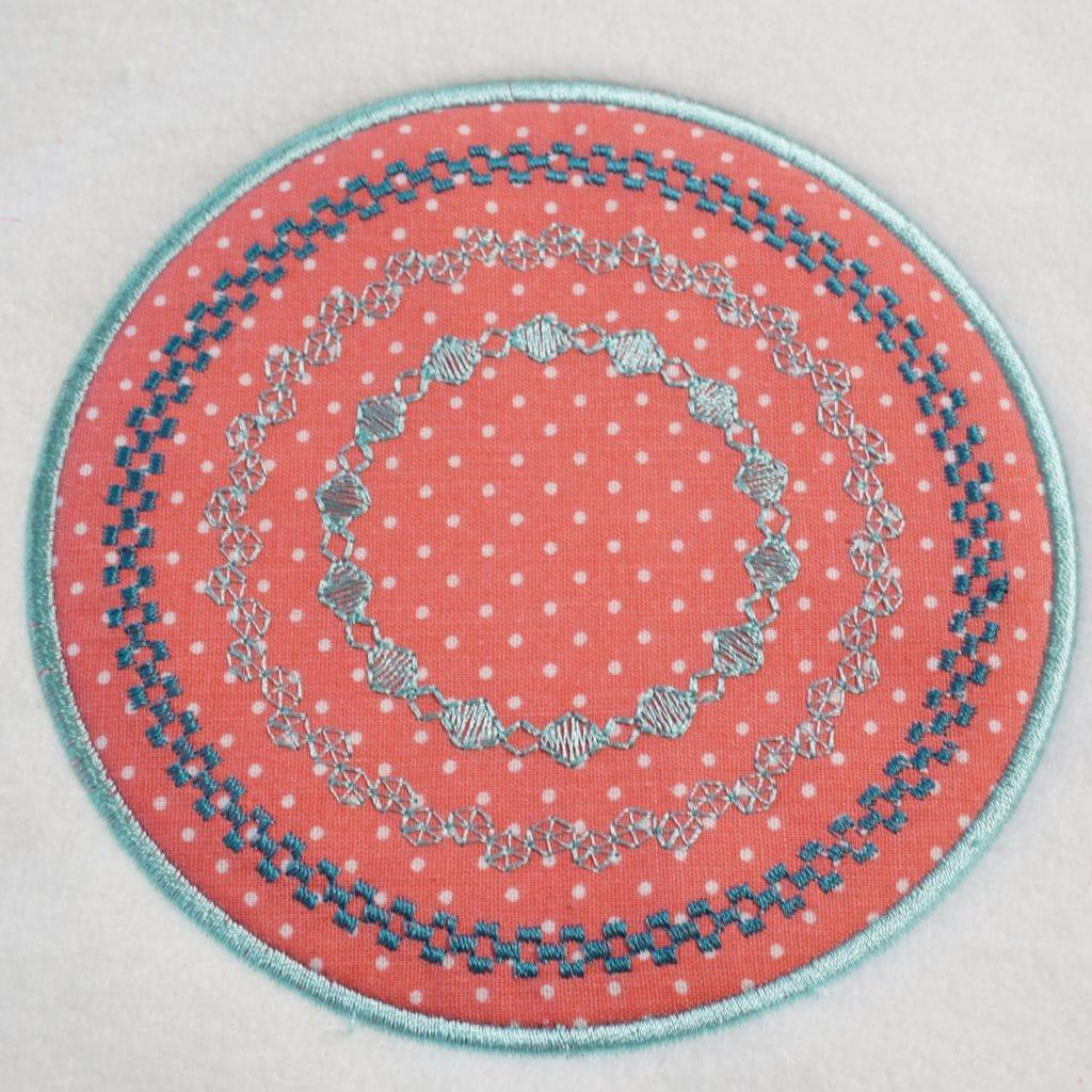 Kreise mit Design Shaping