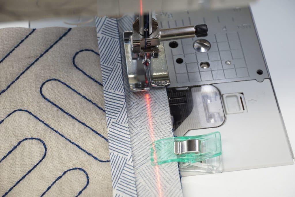 Laserführungslinie Brother VQ4