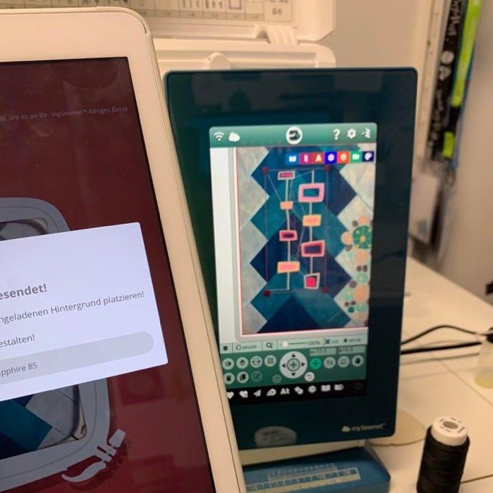 Sapphire 85 und Tablet