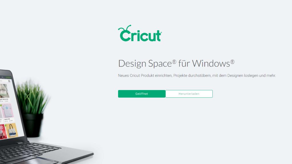 Cricut Design Space herunterladen