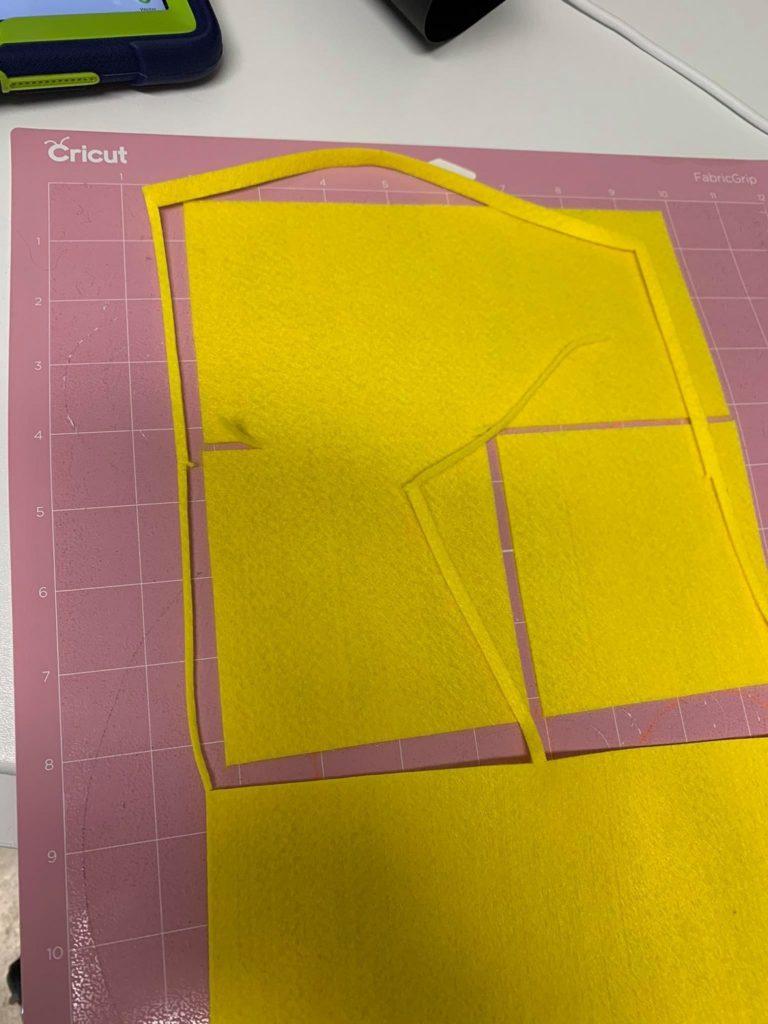 Cricut Maker Testbericht Filz schneiden