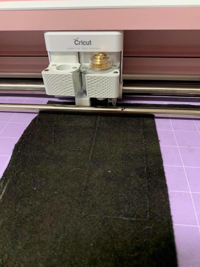 Cricut Maker Leder schneiden