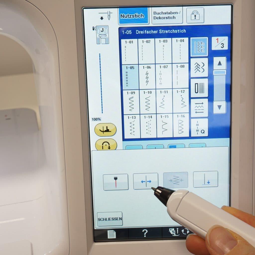 Nadelposition Sensorstift