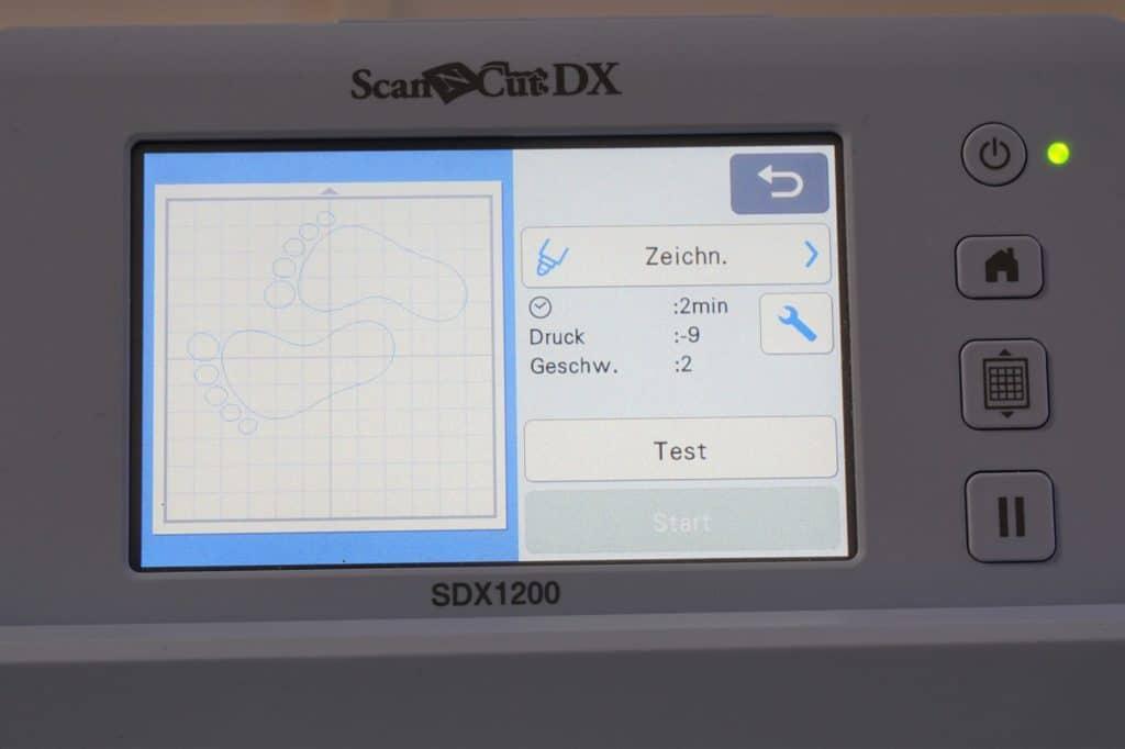 Brother SDX zeichnen