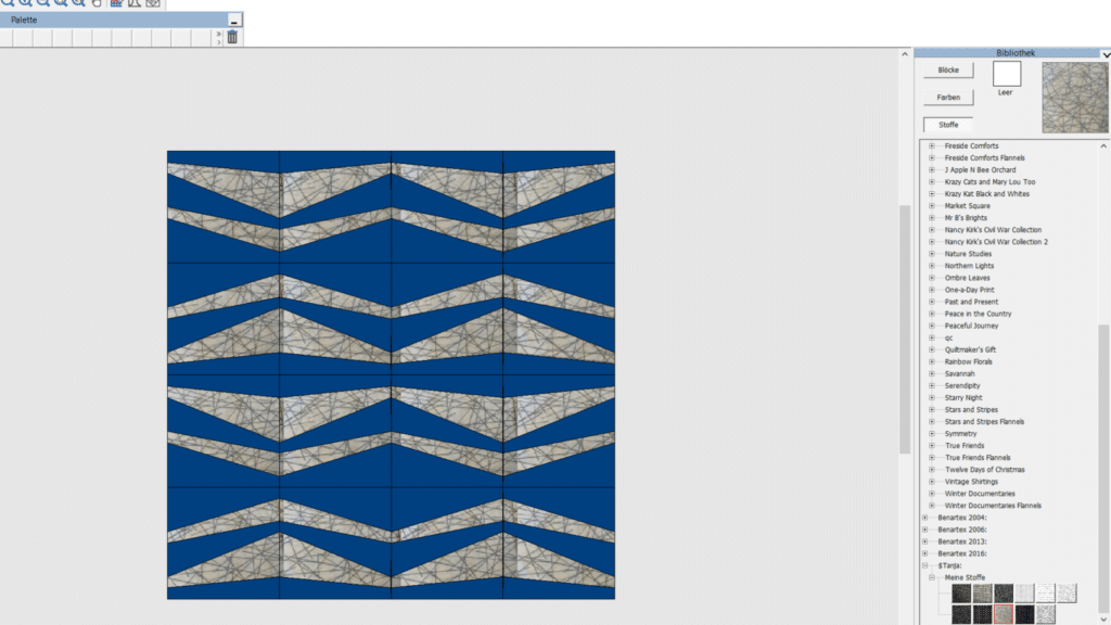 Bernina Designer Plus Anwendung Quilter
