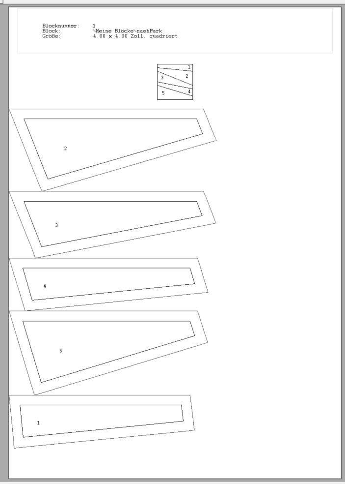 Blockzusammenstellung Bernina Designer Plus