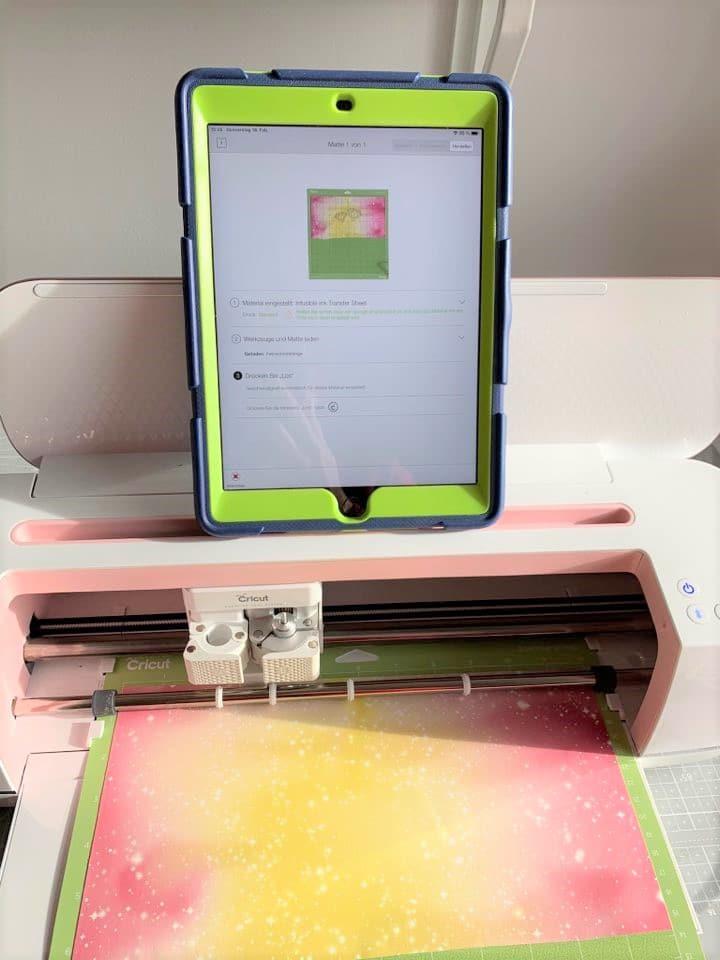 Cricut Maker Test Infusible Ink