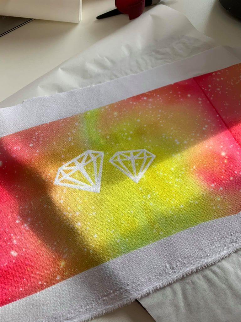 Diamanten Infusible Ink