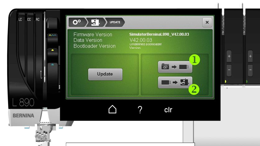 Bernina L890 Update