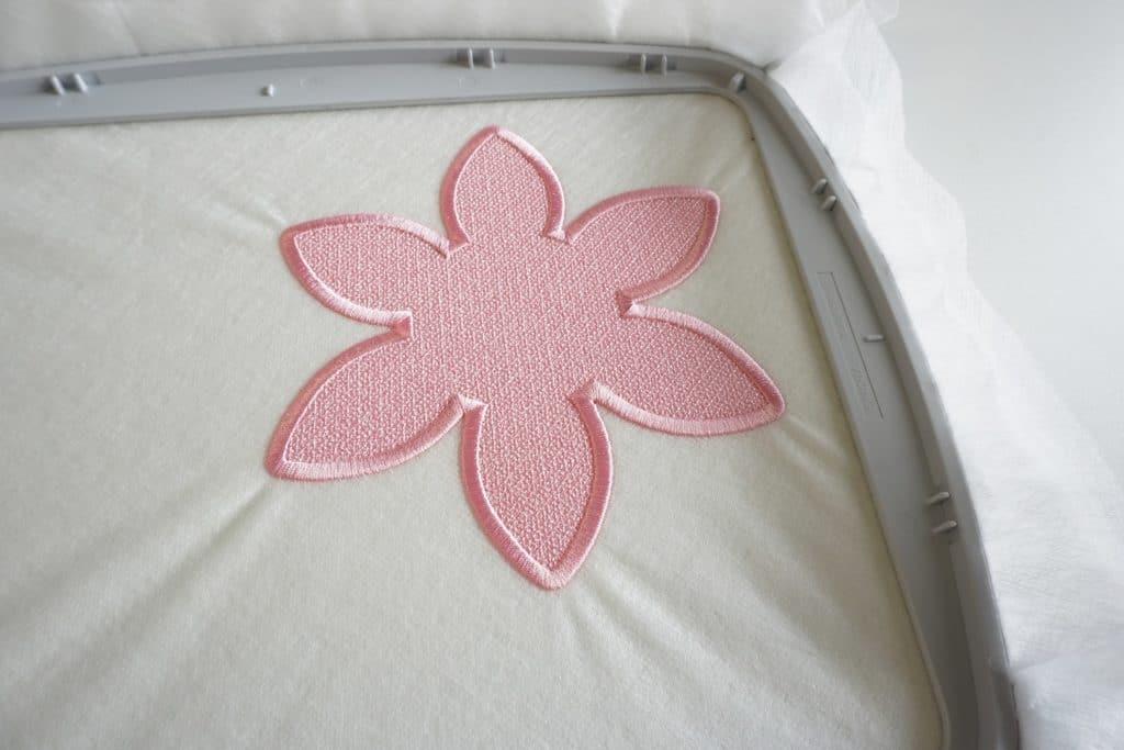 Freestanding Lace wasserlösliches Vlies