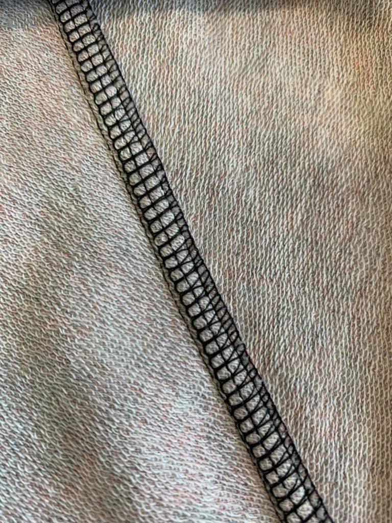 Covern auf der Overlocknaht L890