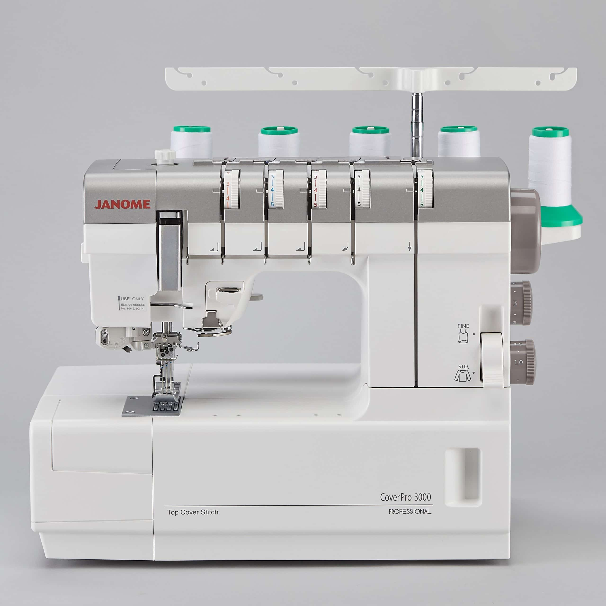 JANOME Cover Pro 3000 P – die Topstitch-Cover