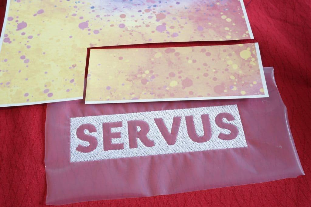 Sublimationspapier für Stickerei